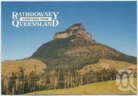 """<span class=""""caption-caption"""">Rathdowney, Mt Lindesay</span>, c1970-2000. <br />Postcard, collection of <span class=""""caption-contributor"""">Murray Views Collection</span>."""