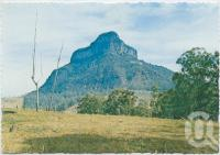 """<span class=""""caption-caption"""">Mt Lindesay, south of Rathdowney</span>, c1970-2000. <br />Postcard, collection of <span class=""""caption-contributor"""">Murray Views Collection</span>."""