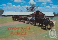 "<span class=""caption-caption"">Historic Jondaryan Woolshed, Darling Downs</span>, c1970-2000. <br />Postcard, collection of <span class=""caption-contributor"">Murray Views Collection</span>."