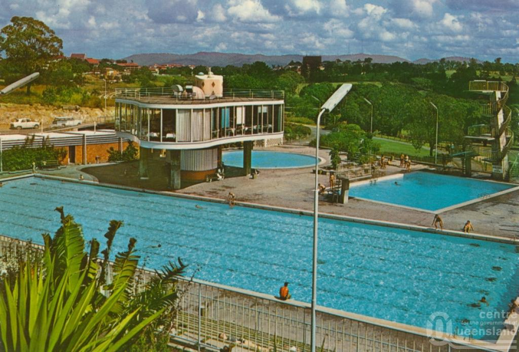 australia centenary swimming pool and restaurant spring hill brisbane 1960