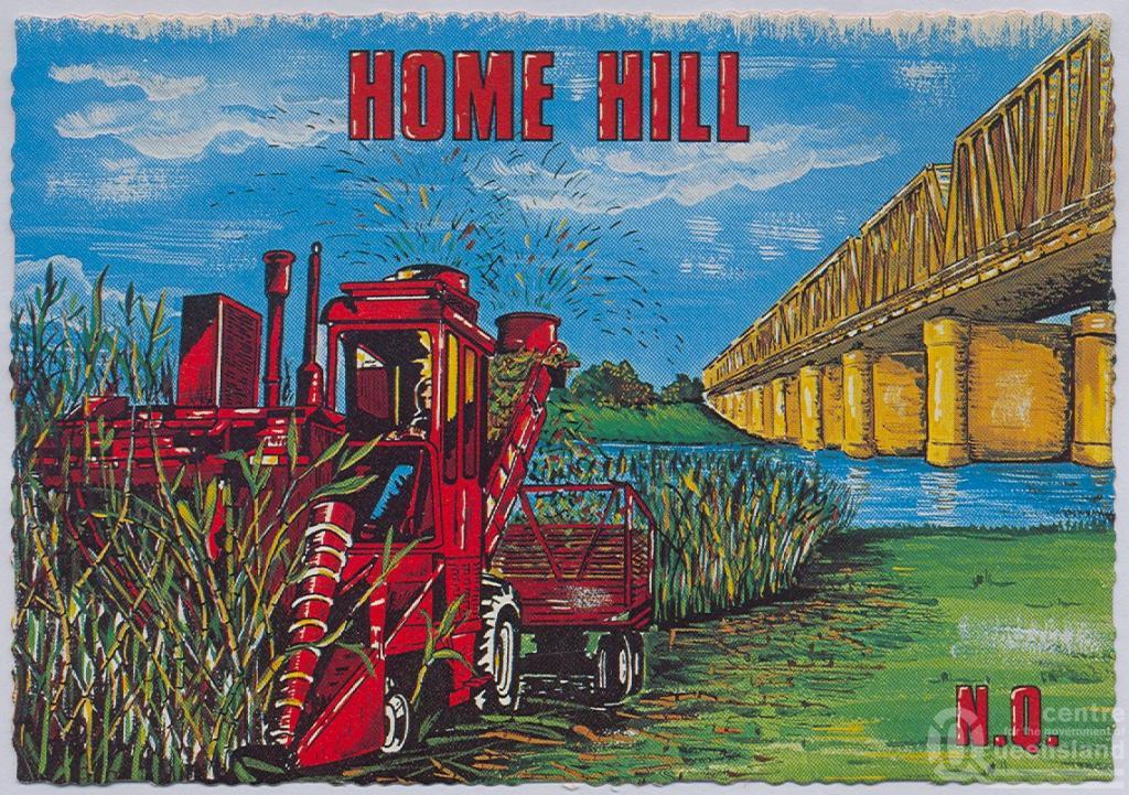 Burdekin Bridge Queensland Burdekin Bridge And Cane