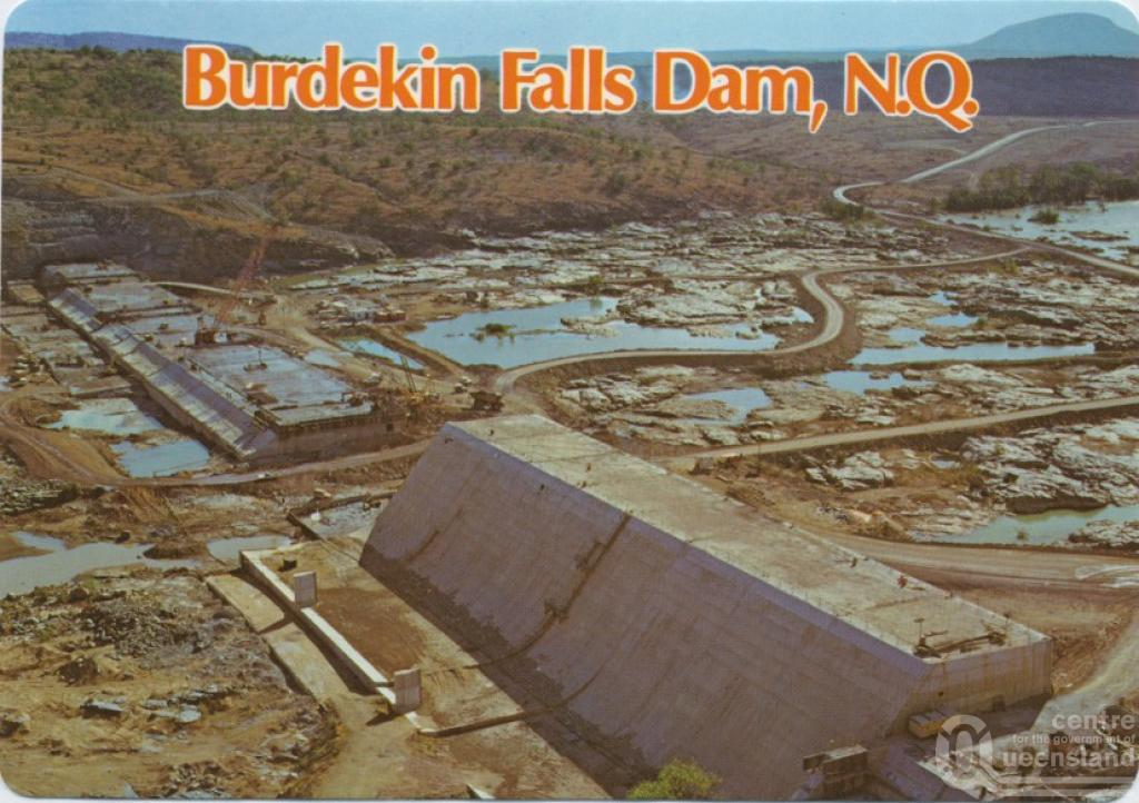 Burdekin Dam Queensland Burdekin Falls Dam